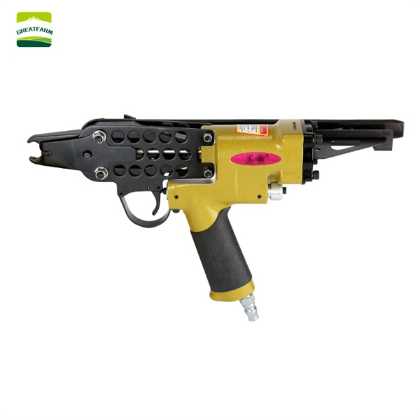 Industrial pneumatic coil nailer